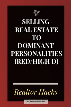 Selling Real Estate to Influencer Personalities (Yellow/High I) — Rev Real Estate School Real Estate Business, Real Estate Agency, Real Estate Tips, Selling Real Estate, Real Estate Investing, Real Estate Marketing, Sell Your House Fast, Selling Your House, Real Estate School