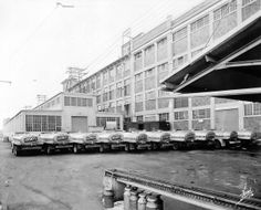 Milk Deliveries at the Hershey Chocolate Factory, c. 1955