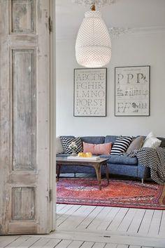 Sabia que o jeans também faz muito bonito na decoração? Dá uma olhadinha em mais esse post do Blog Midá que eu vou mostrar para você!