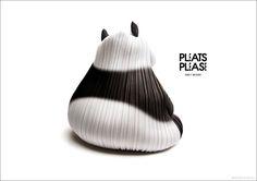 Pleats Please Issey Miyake - Animals  Leggi l'articolo su www.designlover.it