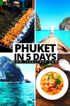 An Epic Phuket Itinerary For Island-Hopping Adventures & Beach Bumming - The perfect 5 days Phuket itinerary also perfect for those looking for things to do in Phuket in 3 days or places to visit in phuket in 4 days. Everything you need to know on what to do in Phuket for a week. #Hotels #Tours #Eating #kohphiphi #PhangNgaBay #Patong #nightlife #oldtown #beaches #vacation #thailand #daytrips #packingtips #sunshine #mayaba Thailand Destinations, Thailand Travel Guide, Bali Travel, Travel Destinations, Best Places To Travel, Cool Places To Visit, Beaches In Phuket, Japanese Travel, Backpacking Asia