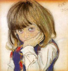 Portrait of a Boy (Józio Feldman), 1905 by Stanisław Wyspiański on Curiator, the world's biggest collaborative art collection. Portrait Au Crayon, Portrait Art, Classic Artwork, Drawing For Beginners, Figurative Art, Find Art, Art Images, Painting & Drawing, Art History