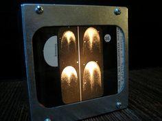HALLEY'S COMET - Fotolyte Vintage Magic Lantern Slide Light Box