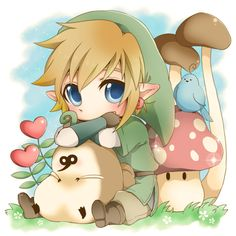 Chibi Link from skyward sword