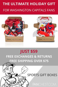 Capitals Gear + Apparel + Merchandise - Perfect Gift for Capitals Fans!  Memorable Gifts f837e115073c