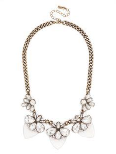 Paradise Persimmon Collar Necklace   BaubleBar
