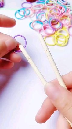 Diy Crafts To Do, Diy Crafts Hacks, Diy Crafts Jewelry, Bracelet Crafts, Diy Arts And Crafts, Creative Crafts, Crafts For Kids, Handmade Crafts, Diys