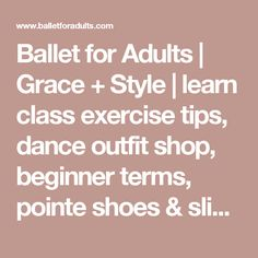 Advanced Ballet Exams – Advanced One by the Royal Academy of