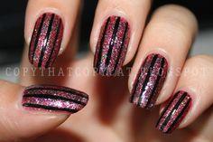 Copy That, Copy Cat: Stripe Nails