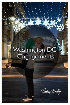 Romantic Wedding Engagements set in the beautiful place of Washington DC