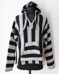 Surfs up, dude! Mexican style drug rug hoodie just listed. #vintage #hippie $30.00
