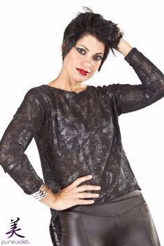Rock chic inspired look Rock Chic, Make Up, Inspired, Inspiration, Beauty, Tops, Fashion, Biblical Inspiration, Moda