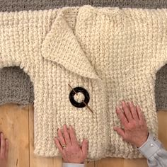 Perfect tutorial for the crafter wanting to learn more about Tunisian crochet! Make this English Wool Cardigan that is just as fun to crochet as it is to wear.