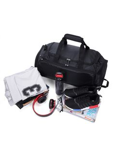 MIER Gym Bag with Shoe Compartment Men Travel Sports Duffel 8ac83d065cbd6