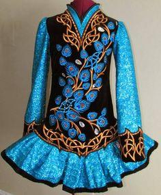 Kirations Irish Dance Solo Dress Costume
