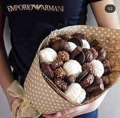 Assembly: in a basket Food Bouquet, Gift Bouquet, Candy Bouquet, Chocolate Flowers, Chocolate Bouquet, Chocolate Covered Strawberries, Edible Bouquets, Sweet Box, Edible Arrangements