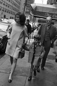Kennedy Family in Manhattan