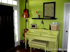 Maybe I should paint my piano something crazy like this, it's not playable but I just can't get rid of it.