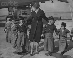 Tibetan refugee children in England early 1970