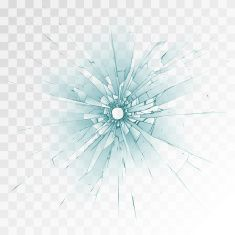 Bullet hole vector art illustration