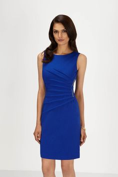 IVANKA TRUMP. Purple Starburst Ponte Sheath Dress.Taille 42. REF 3311/42.
