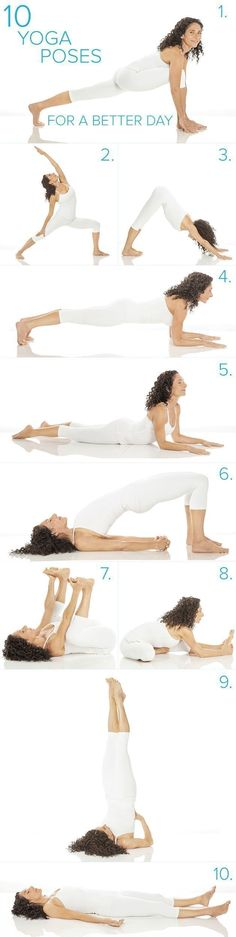 Try doing these easy yoga poses to boost your mood. This workout routine just takes 10-minutes and it's effective. #YoYoYoga-PosesandRoutines #YogaPostures,RoutinesAndPoses
