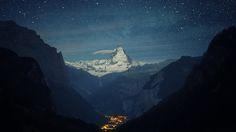 Matterhorn (4478 m) in Switzerland, 4K