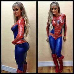 Sexy Spiderman costume