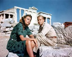 Sophia Loren Alan Ladd Candid Boy on A Dolphin (layout reference) http://www.house2book.com