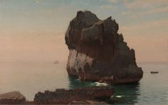 """""""Capri,"""" William Stanley Haseltine, oil on canvas, 19 5/8 x 31 7/16"""", Cleveland Museum of Art."""