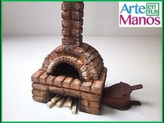 Miniature oven for nativity scenes Oven Diy, Free To Use Images, Stove Fireplace, Christmas Villages, Model Homes, Dollhouse Miniatures, Decoration, Crafty, Barbie
