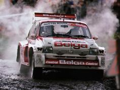 ra Marc Duez - Willy Lux-MG Metro 6R4 Gr.B-Austin Rover World Championship Team-RAC Rally 1986