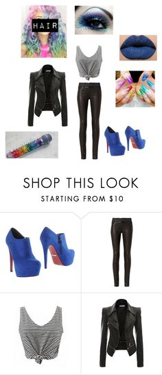 """Untitled #388"" by pufferfishgal on Polyvore featuring PrimaDonna and rag & bone"