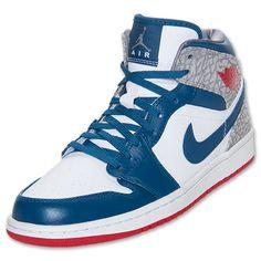 Men's Air Jordan 1 Mid Basketball Shoes
