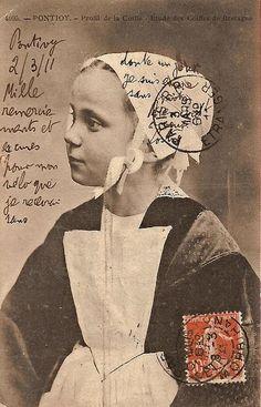 vieille carte postale pontivy ! :) ♥