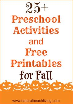 of the Best Preschool Themes and Lesson Plans, Tons of Pre-K activities and printables, Perfect for weekly or monthly themed learning or unit studies. Fall Preschool Activities, Preschool At Home, Preschool Curriculum, Preschool Lessons, Montessori Activities, Preschool Classroom, Preschool Worksheets, Toddler Activities, Preschool Printables