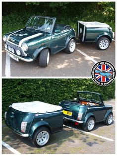 Mornin Miniacs We hit the road with a Mini Shorty Towin Tuesday combo that looks just too damn cool I reckon! Have a great day folks
