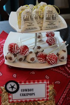 Not sure what you guys are thinking cake-wise but cakepops could be fun to add Country Hoedown Party, Country Birthday Party, Rodeo Birthday, Sweet 16 Birthday, 16th Birthday, Birthday Ideas, Rodeo Party, Cowgirl Party, Cowboy Theme