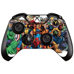 XBOX ONE Controller Decal Sticker Skin - MARVEL (B) - For XBOX ONE Controller