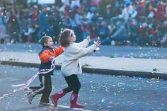 Young revelers at the Philadelphia Mummers Parade. Photo by Yo Matt Foto
