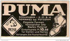 Original-Werbung/ Anzeige 1912 - PUMA SCHUHE - ca. 65 x 40 mm