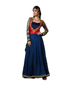 Loved it: Ajay And Vijay Navy Blue Pure Georgette Semi Stitched Embroidered Salwar Suit, http://www.snapdeal.com/product/ajay-and-vijay-navy-blue/1856570038