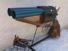 Double-barrel Pistol-grip Sawed-off Shotgun BBQ Grill: The... - Geek gifts