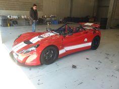 Lotus 211 RSR Track car photo J. van Dijk Spa Francorchamps