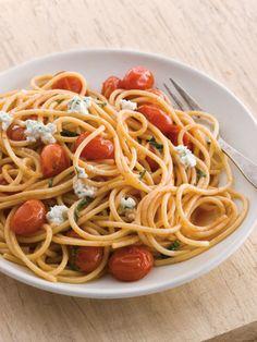 Spaghetti with Tomatoes & Herbed Ricotta - Williams-Sonoma Taste