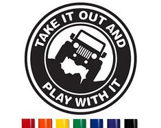 Jeep Vinyl Decal Car Sticker by PersonalizePeacock on Etsy