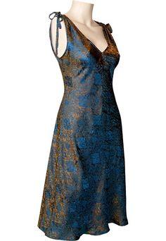 Pretty silk dress