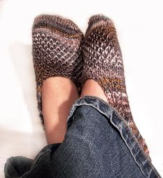 Ravelry: Cozy Cosette Footsies pattern by Julie O'Neil