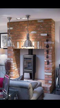 Love this wood burning stove