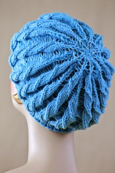 acd9df2e54c Twilled Stripe Hat. Double Pointed Knitting NeedlesCircular ...